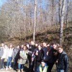 Dans le cadre du module développement durable, les élèves du lycée Saint-François -la Cadène se sont rendus à la forêt de Grésigne.
