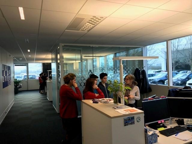 Proxité - visite collège La Cadène 2 - janvier 2018
