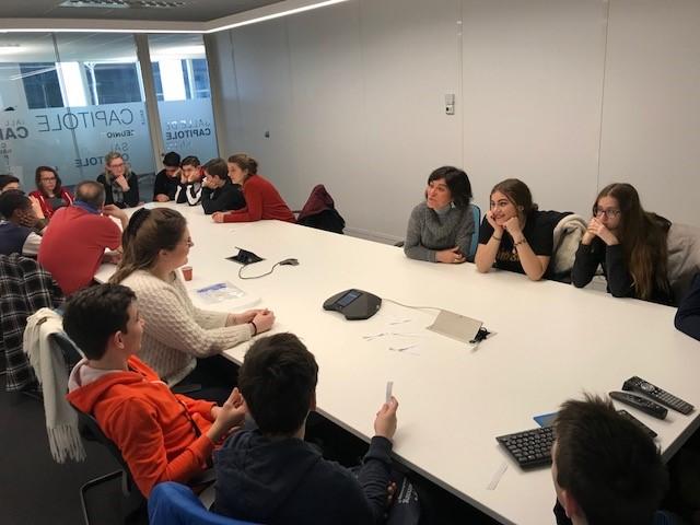 Proxité - visite collège La Cadène 5 - janvier 2018