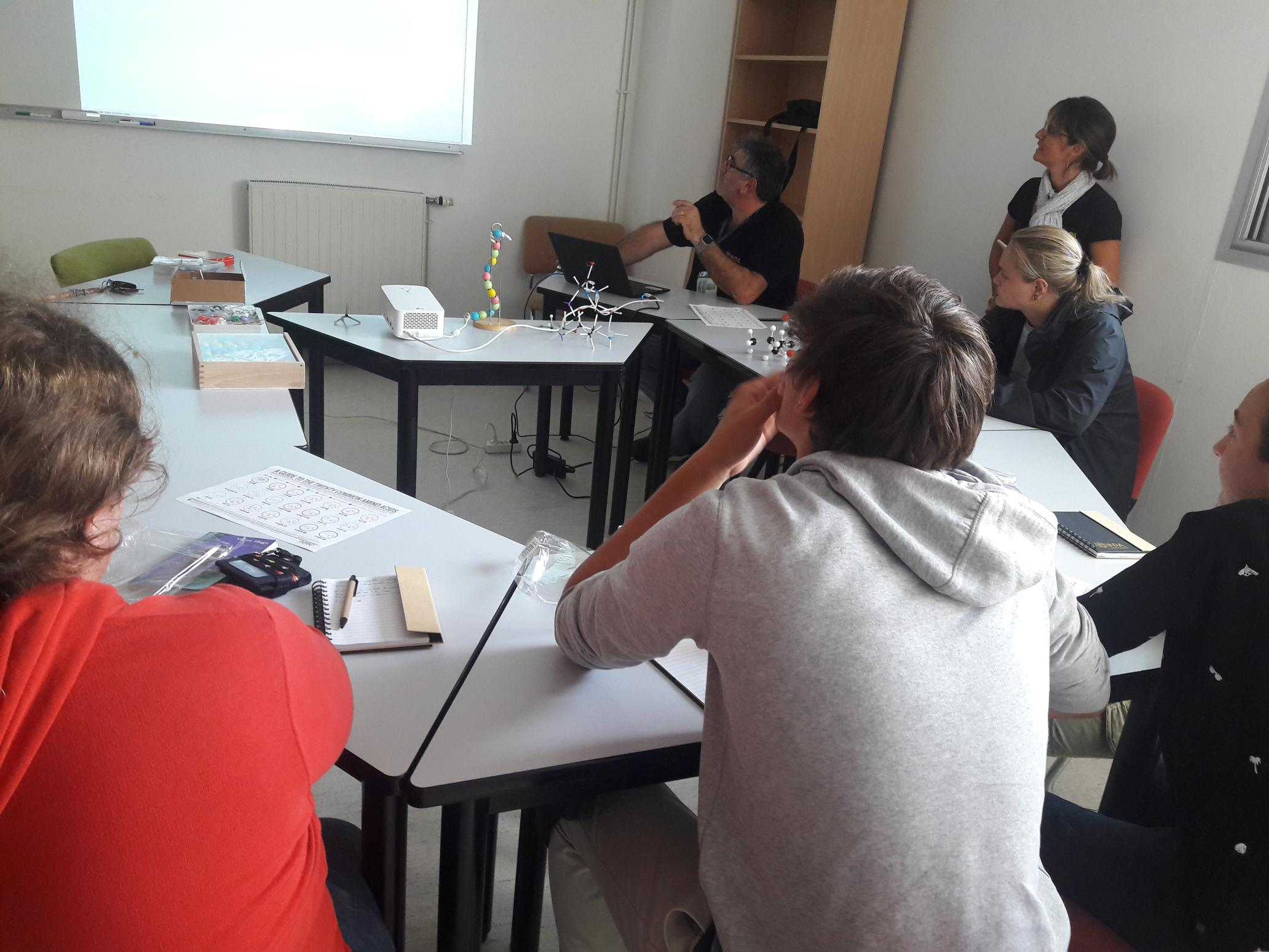 Ateliers en petit groupe
